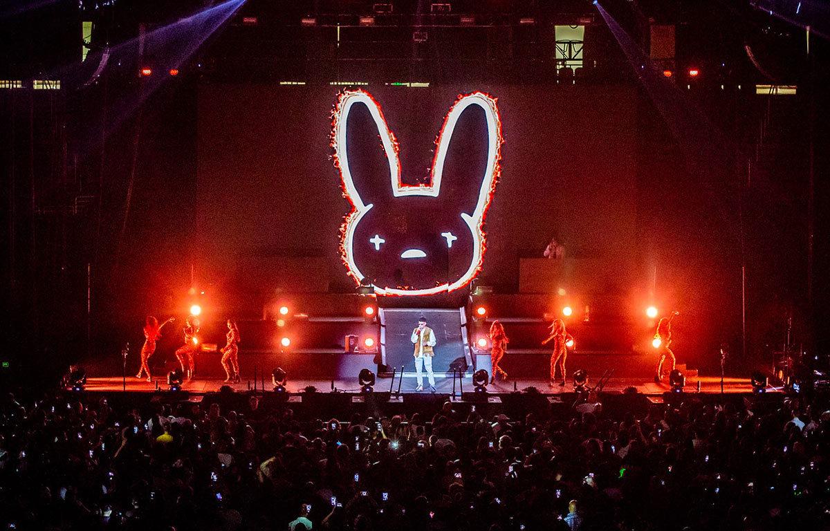 Bad Bunny La Nueva Religion Tour Prudential Center Newark, NJ