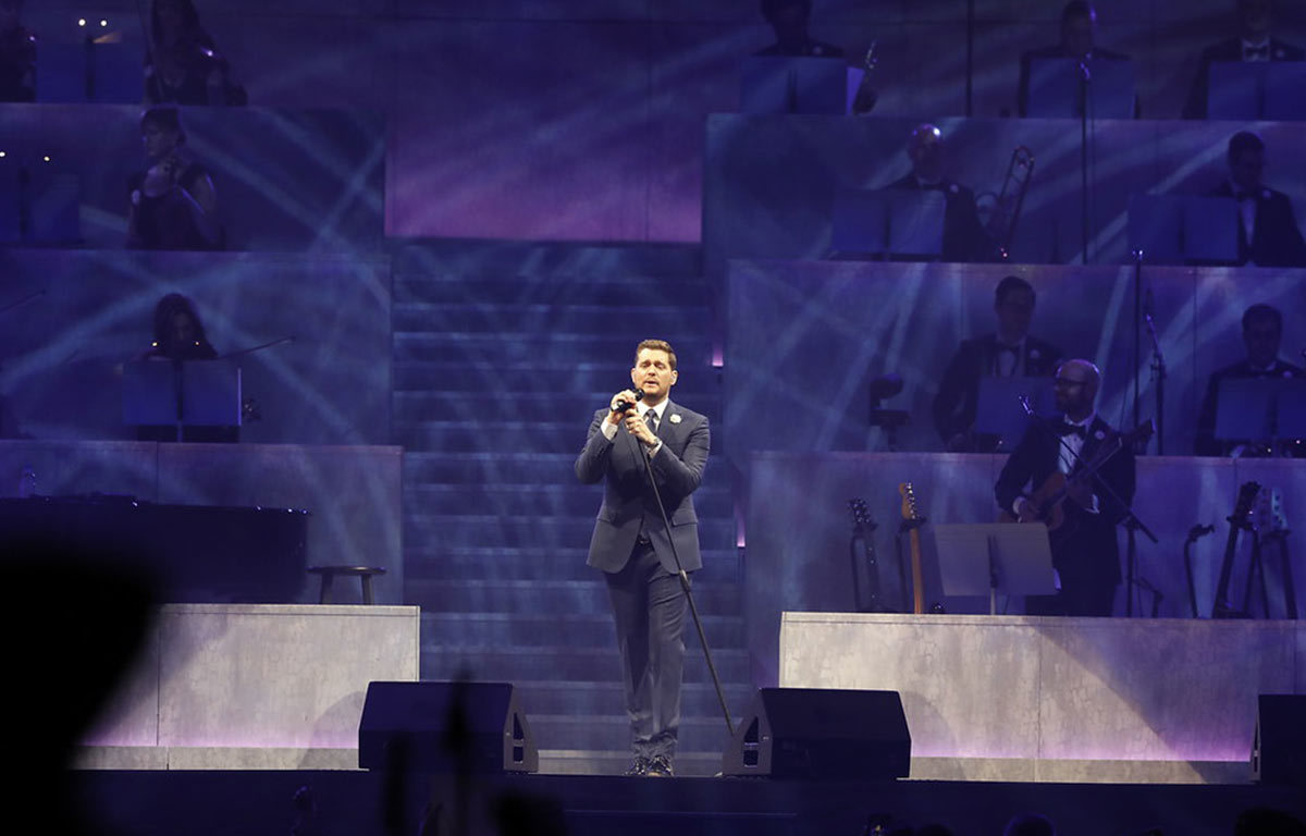 An Evening with Michael Bublé Prudential Center Newark, NJ