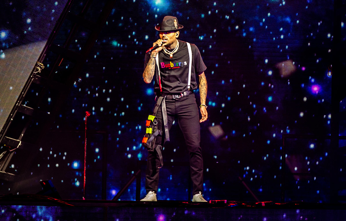 Chris Brown Heartbreak on a Full Moon Prudential Center Newark, NJ