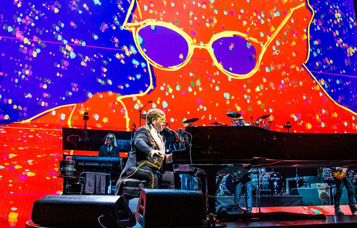 Elton John Farewell Yellow Brick Road Tour Prudential Center Newark, NJ