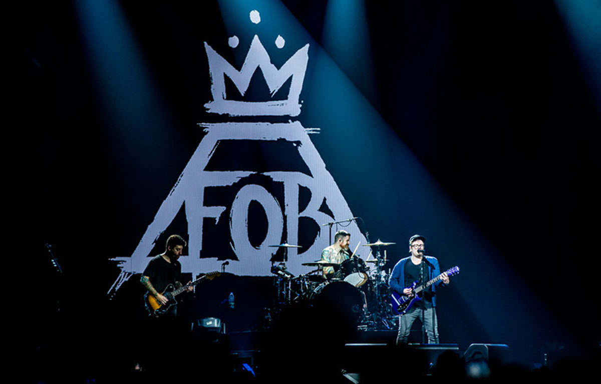Fall Out Boy MANIA Tour Prudential Center Newark, NJ