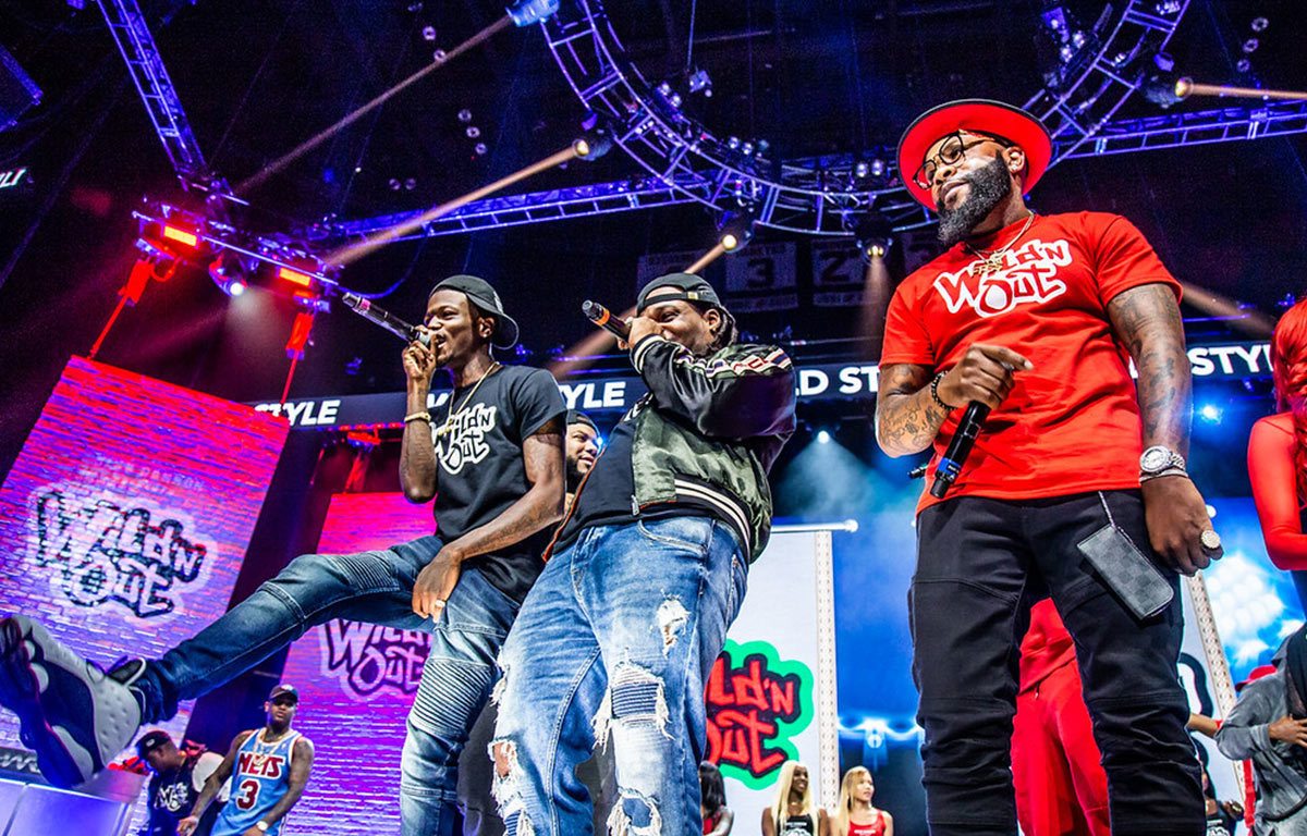Nick Cannon Wild'n Out Live 2018 Prudential Center Newark, NJ